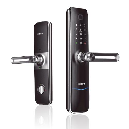 PHILIPS飛利浦電子鎖7100-把手式智能門鎖
